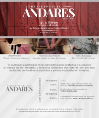 Special Sale & Demonstrations / Venta-Especial Andares...