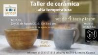 High Temperature Ceramics / Cerámica alta temperatura