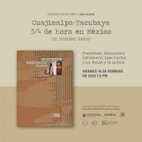 Book / libro: Cuajimalpa-Tacubaya 3/4 de hora en Mexico