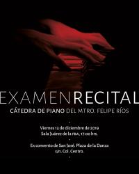 Piano Recital Examination/ Examen Recital
