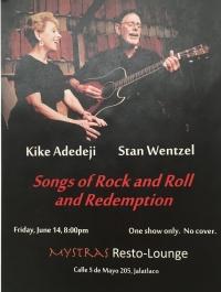 Songs of Rock & Roll & Redemption/ Canciones de rock y redención..