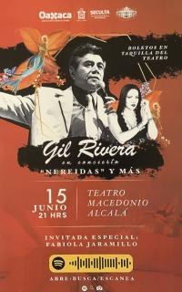 Gil Rivera in concert/en concierto
