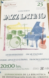 Latin Jazz Concert / Concierto de jazz latino