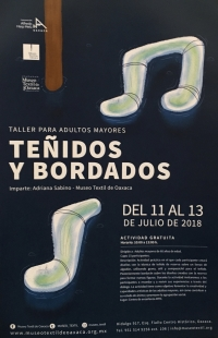 Dyeing & Embroidery / Teñidos y Bordados