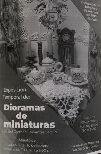 Ends soon!  Miniature Dioramas / Dioramas de miniaturas