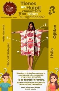 Meaning of embroidered dress / Significado de traje bordado