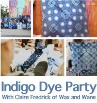 Indigo Dye Party for Kids / Fiesta de Indigo para Ninxs