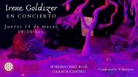 Irrene Goldszrt iin concert / en concierto