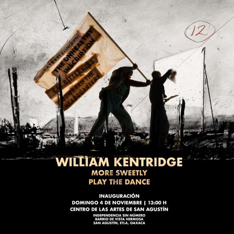 William Kentridge - More Sweetly Play the Dance - YouTube