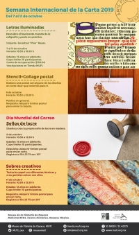 Int'l Week of the Letter / Semana Int'l de la Carta