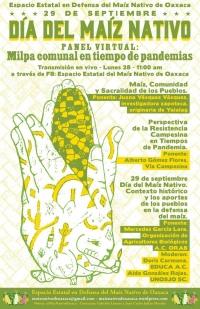 ONLINE Day of Native Corn / Dia del Maiz Nativo