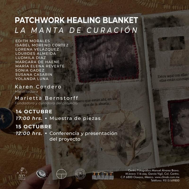 Patchwork Healing Blanket