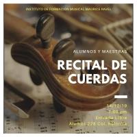 Ravel string concert/ concerto de cuerdas