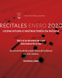 Instrument Recitals / Recitales