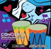 Concert, Afrocuban & Latin rythms / Ritmos Afrocubanos & Latinos