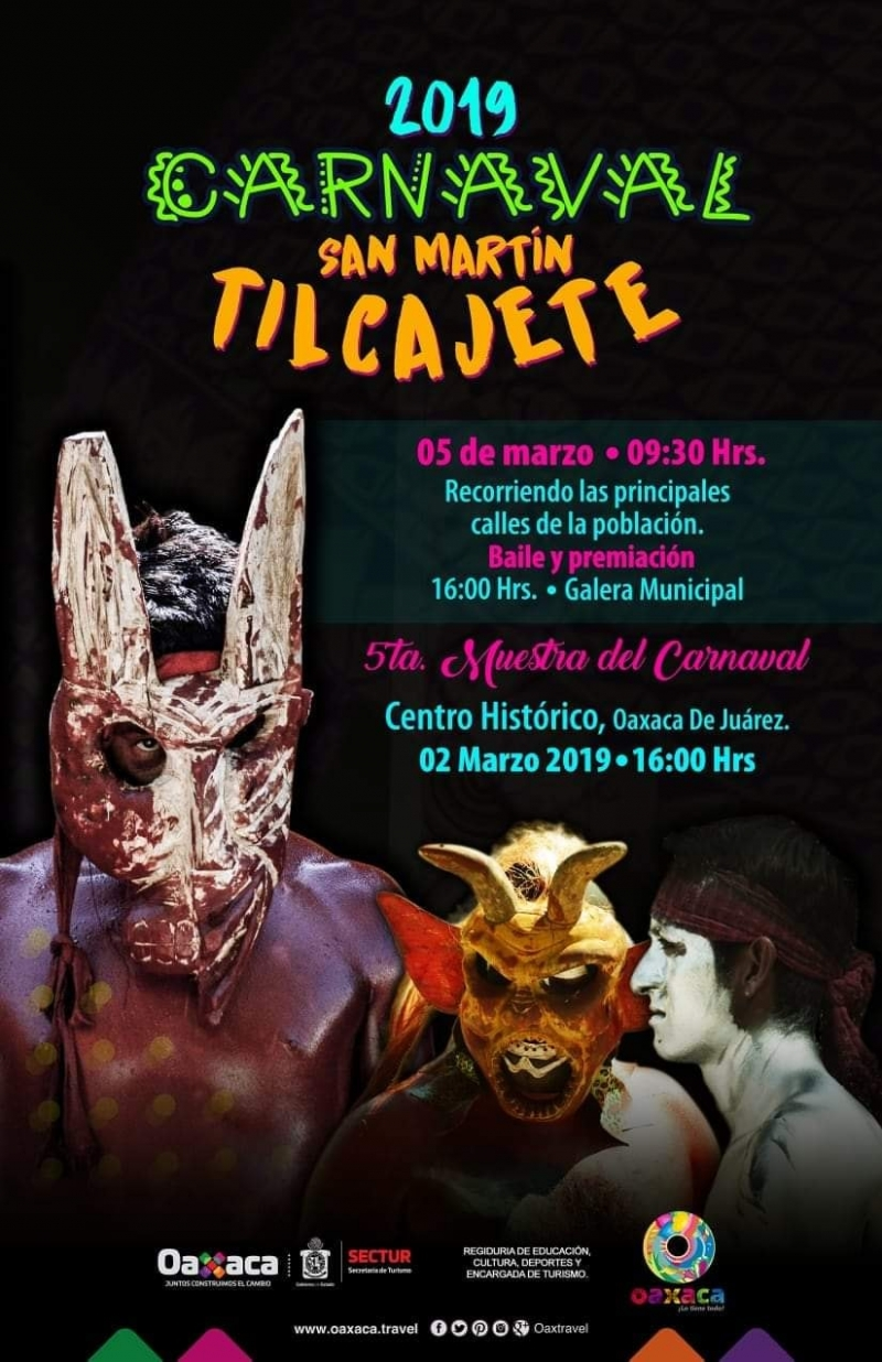 Carnaval in/en San Martin Tilcajete