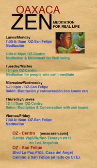 Zen Meditation & Conversation for Real Life/Meditación para la vida real