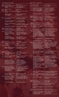 Semana Santa Activities / Activitidades de Semana Santa