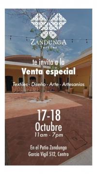 Special sale / Venta especial, Zandunga Textiles