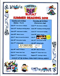 Summer Reading: Libraries Rock!