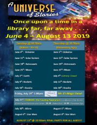 Children's Summer Reading 2019