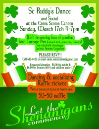 St. Paddy's Day Dance and Social