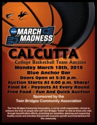 TBCA March Madness Calcutta Auction