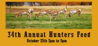 34th Annual Hunters Feed