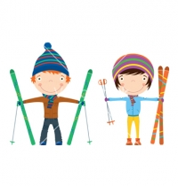 Fred Moodry 3rd grade Ski Day