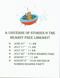 Summer Reading @ Hearst Free Library