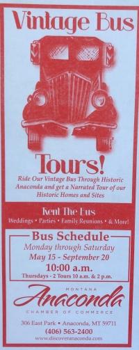 Anaconda Vintage Bus Tour