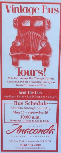 Anaconda Vintage Bus Tour