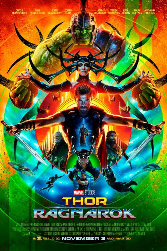 Thor Ragnarok 11/25/2017 Anaconda, Montana, Washoe Theater
