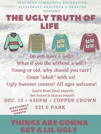 NextGen  Older Gen Will Workshop; Ugly Sweater Contest