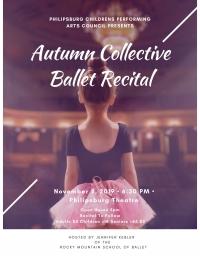 PCPAC presents Children's Autumn Ballet Recital
