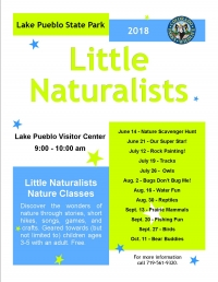 Lake Pueblo Little Naturalists