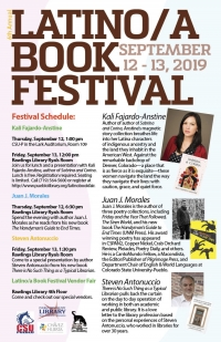 Latina/o Book Festival--Kali Fajardo-Anstine
