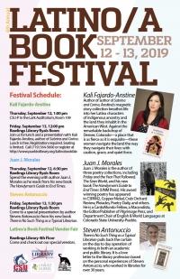 Latina/o Book Festival--Steven Antonuccio