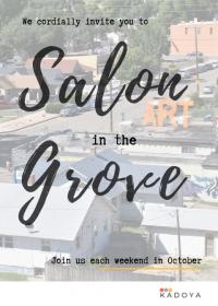 Salon in the Grove   Dynelle Abeyta   Fluid Art
