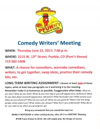Comedy Writers' Meeting