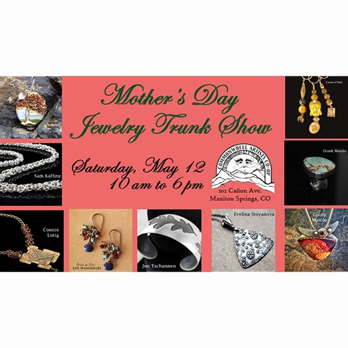 Mother S Day Jewelry Trunk Show 05 12 2018 Manitou Springs Colorado