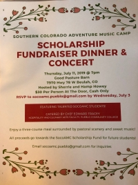 Scholarship Fundraiser Dinner and Concert