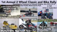 1 st annual 2 wheel classic and bike rally