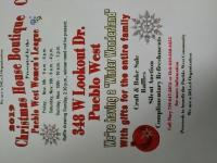 Pueblo West Women's League Christmas House Boutique