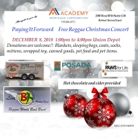 Free Reggae Christmas Concert  Paying It Forward