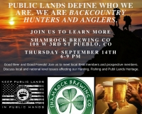Public Lands Pint Night
