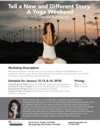 Desiree Rumbaugh's Yoga Workshop Weekend