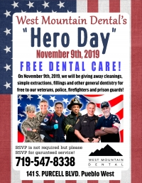 West Mountain Dental Hero Day