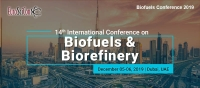 14th International Conference on Biofuels & Biorefinery