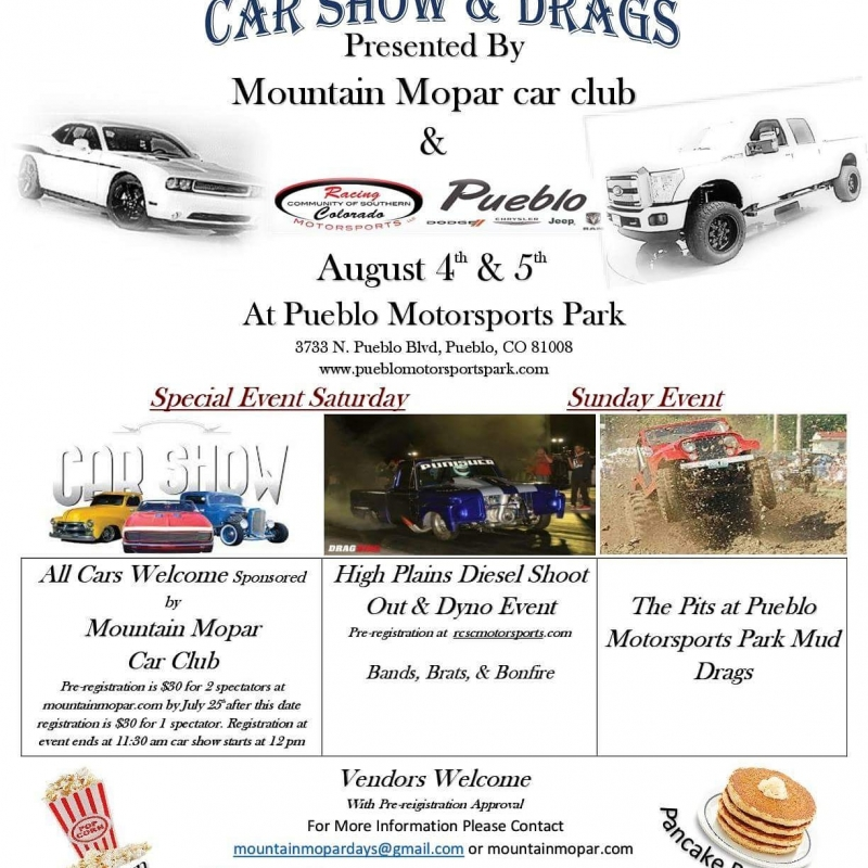 Rumble In The Steel City Carshow And Drags Pueblo - Pueblo car show